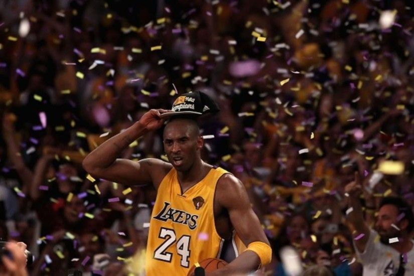 NBA Finals Champs La Lakers Kobe Bryant 4K Wallpaper