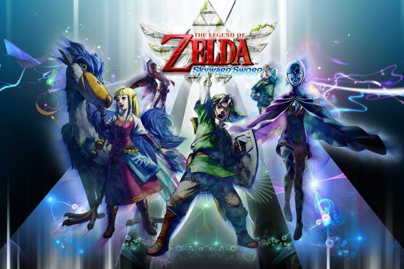 Skyward Sword Wallpaper - The Legend of Zelda Wallpaper (33784082 .