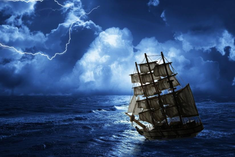 Ghost Pirate Ship Wallpapers Photo