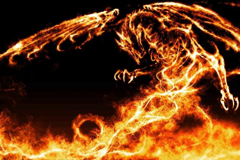Dragon Fire Awesome Wallpapers