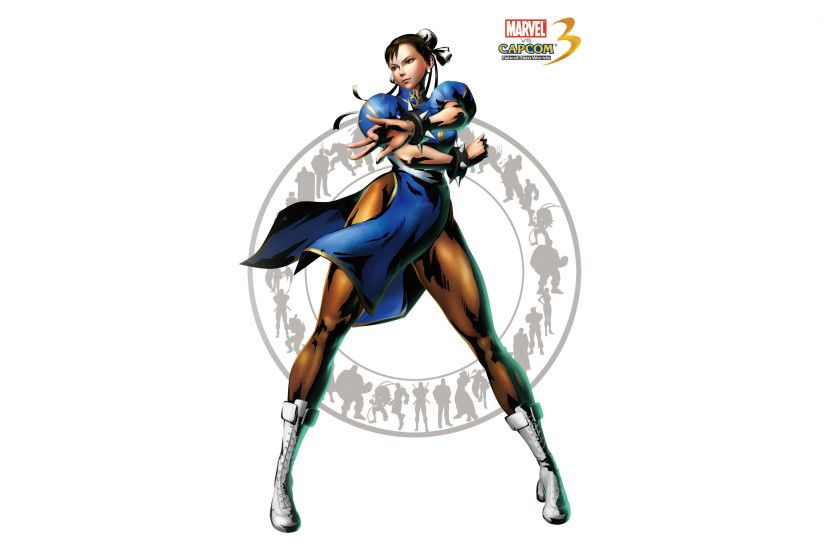 Capcom 3 - Chun-Li wallpaper
