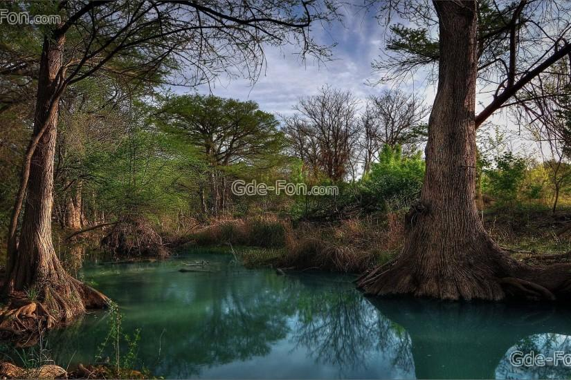 Download wallpaper Hill, Country, Creek, texas free desktop .