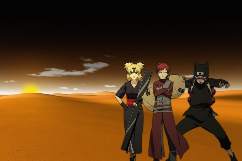 Download Desert Temari Naruto Shippuden Gaara Kankuro Wallpaper .