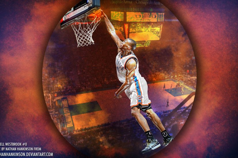 Russell Westbrook Thunder 1920×1200 Wallpaper