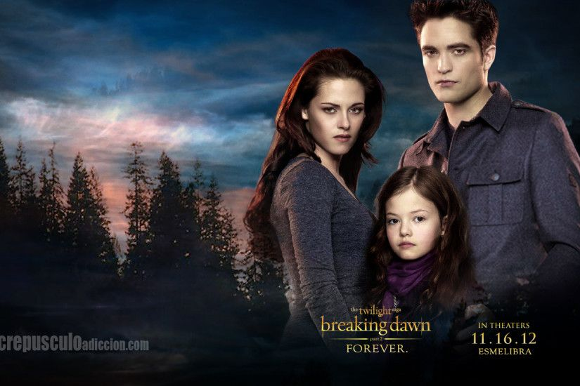 Movie - The Twilight Saga: Breaking Dawn - Part 2 Kristen Stewart Bella  Swan Robert