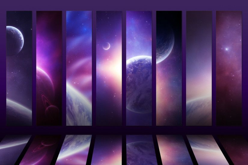 Cosmos Collection Iv Purple X By Funerium Wallpapers