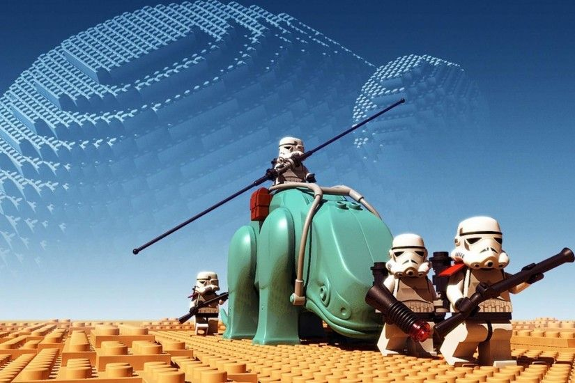 Star Wars Lego Troopers HD Wallpaper | HD Wallpapers Source