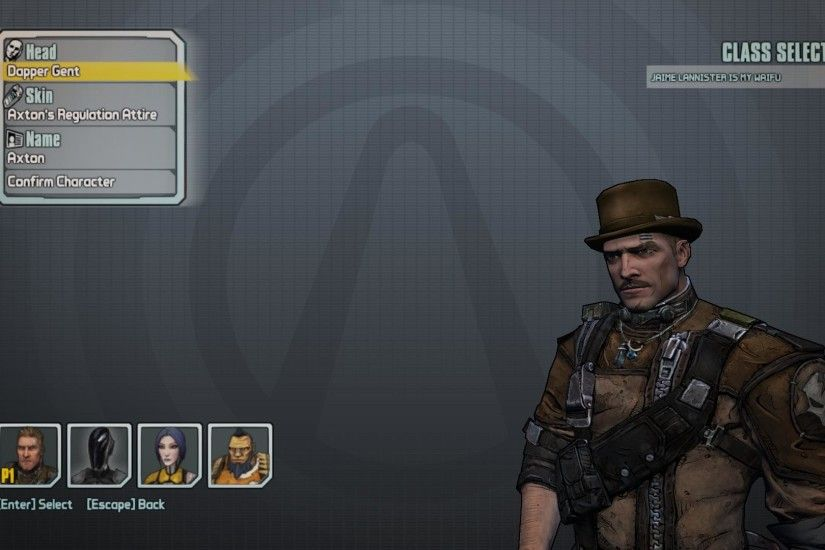 Looking for a Skin or Head Trade - Borderlands 2 Message Board for Xbox 360  - GameFAQs