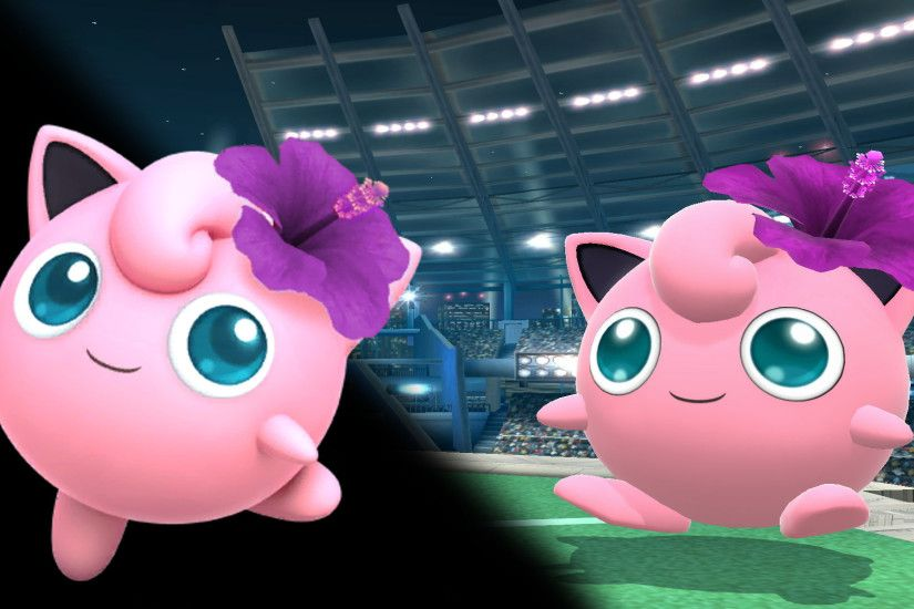 Purple Flower Jigglypuff ...