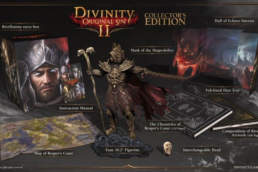 Divinity: Original Sin 2 video reveals playable undead and a 'big-ass'  Collector's Edition | PC Gamer