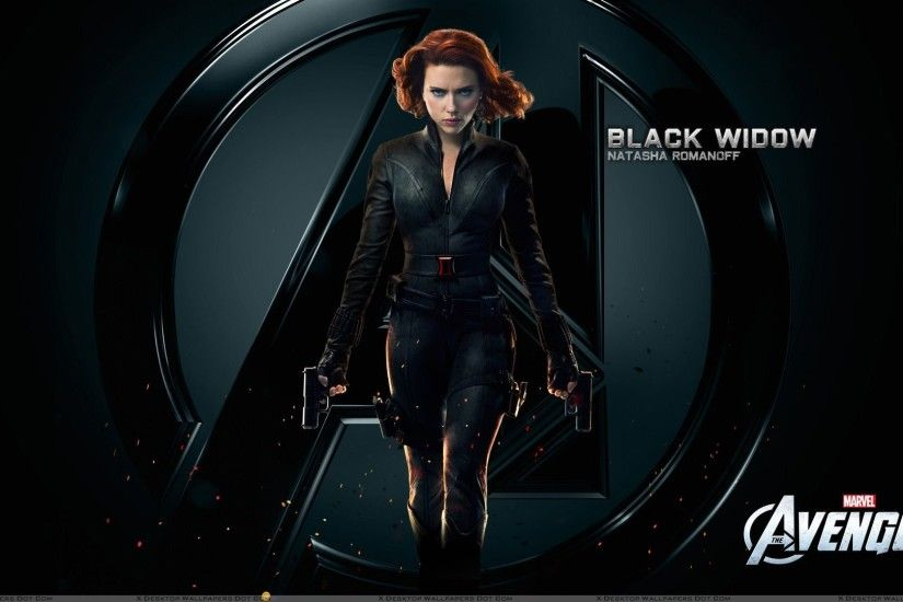 Scarlett Johansson As Black Widow | The Avengers – Scarlett Johansson Black  Widow Wallpaper