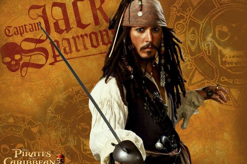 Johnny Depp Pirates Of The Caribbean Wallpaper WallDevil