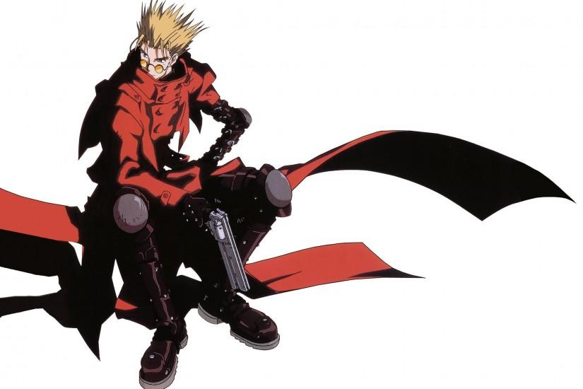 Trigun Vash The Stampede wallpaper background