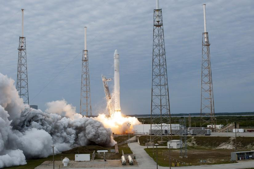 SpaceX CRS-2 Mission Launch | NASA.