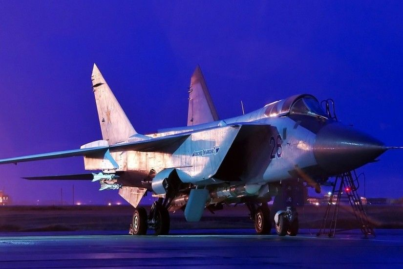 Mikoyan Mig 31 Fox Hound 4K Wallpaper