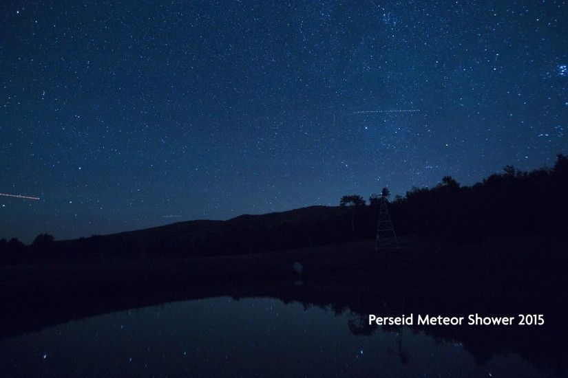 Perseid Meteor Shower 4K Timelapse 2015 Utah | Perseids Time-lapse - YouTube