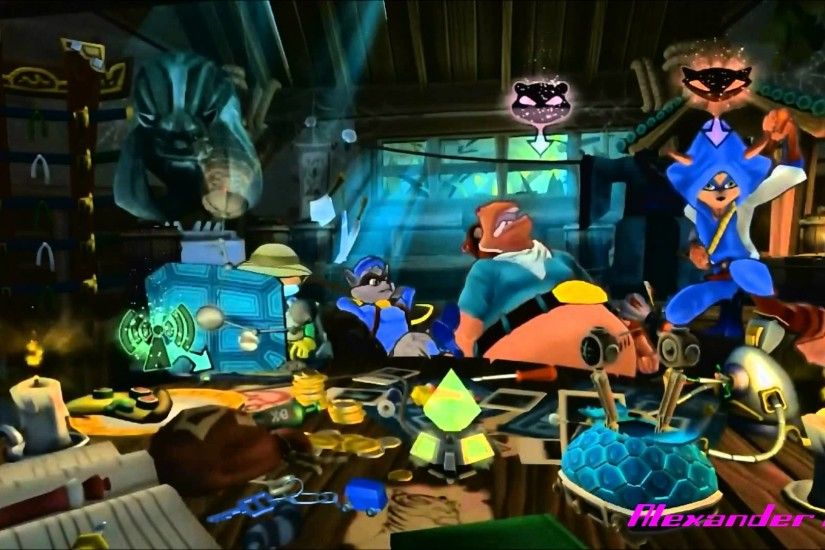 Sly Cooper: Thieves in Time - Safehouse