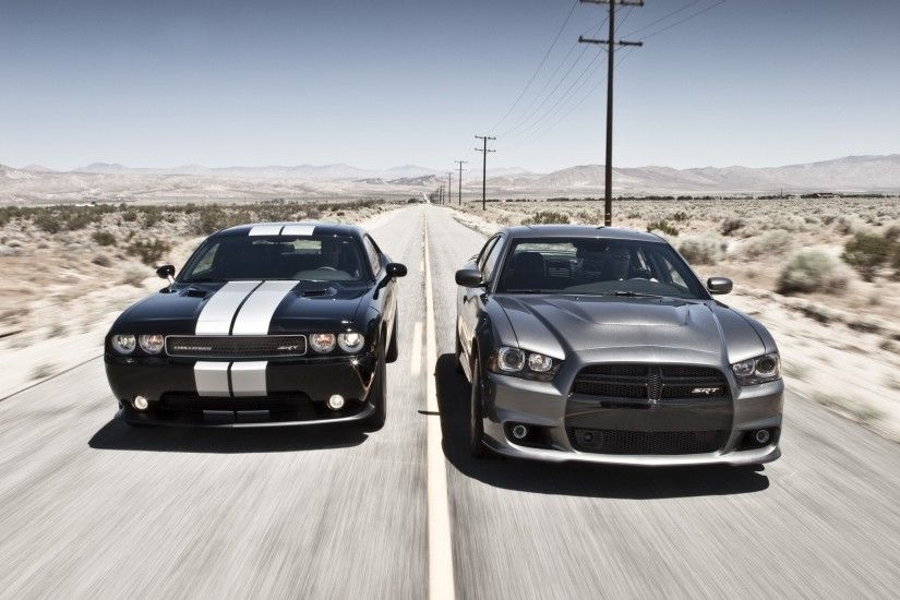 Cars muscle cars Dodge Challenger Dodge Charger Dodge Challenger SRT8  wallpaper | 2048x1536 | 193349 | WallpaperUP