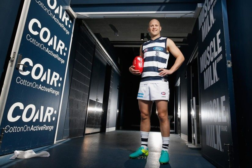 Back home again: Gary Ablett looks good in the blue and white. Picture: AFL  Photos