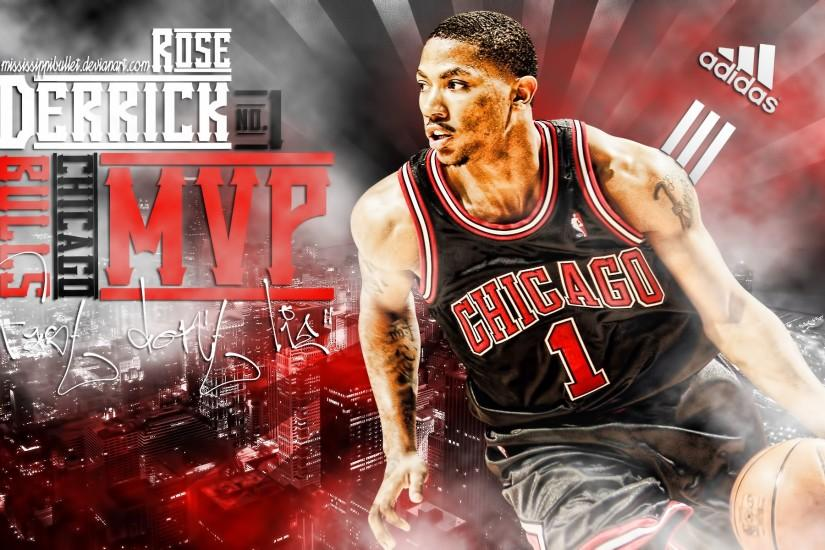 Derrick Rose Wallpapers Desktop Background.