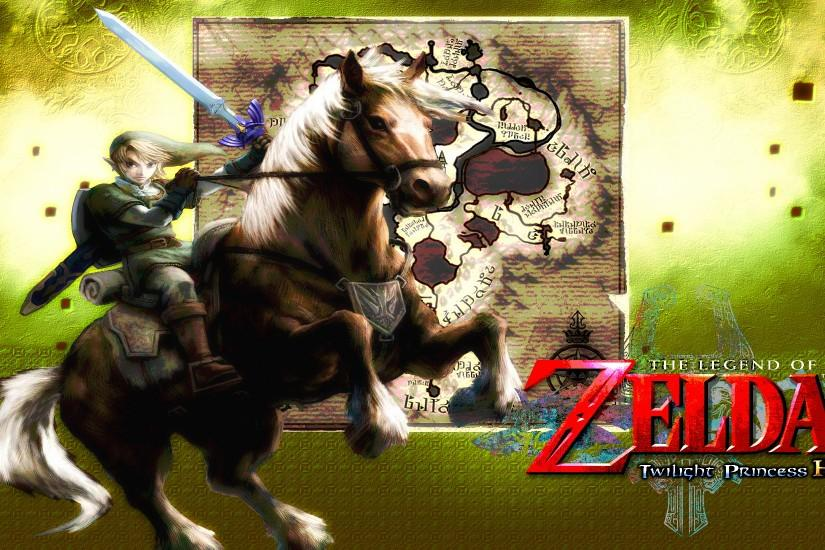... Zelda: Twilight Princess HD - Epona Wallpaper by DaKidGaming