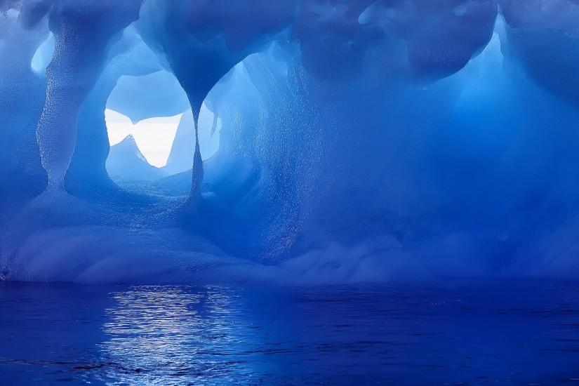 Ice Cave Wallpaper Free 46022 HD Pictures | Top Background Free