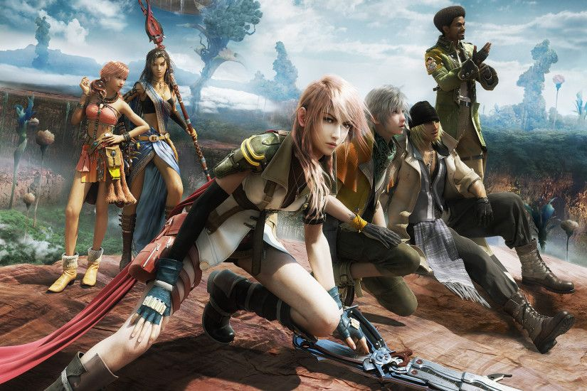 Desktop Wallpaper Final Fantasy Xiii #h354969 | Games HD Images