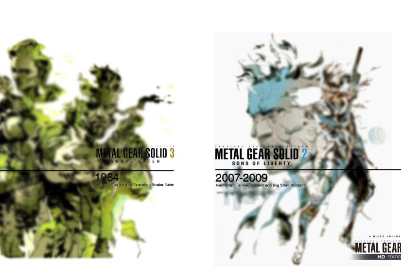 ... MGS HD EDTION (Timeline MGS2/MGS3) by Outer-Heaven1974