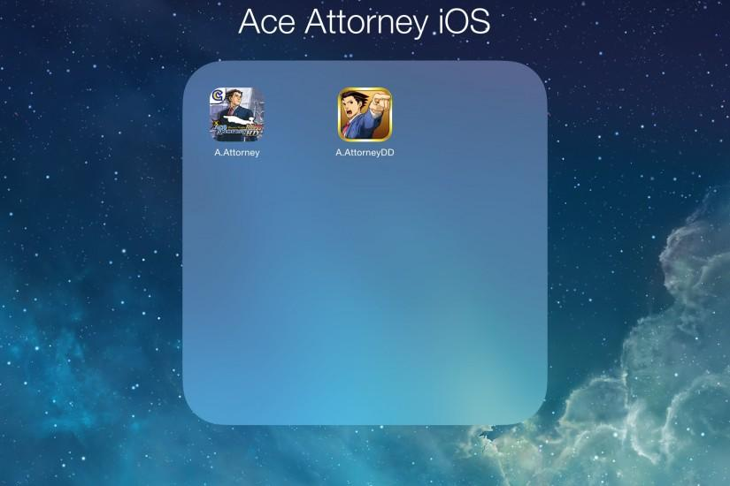 Ace Attonery Triogy and Duel Destinies (iOS). The two Ace Attorney ...