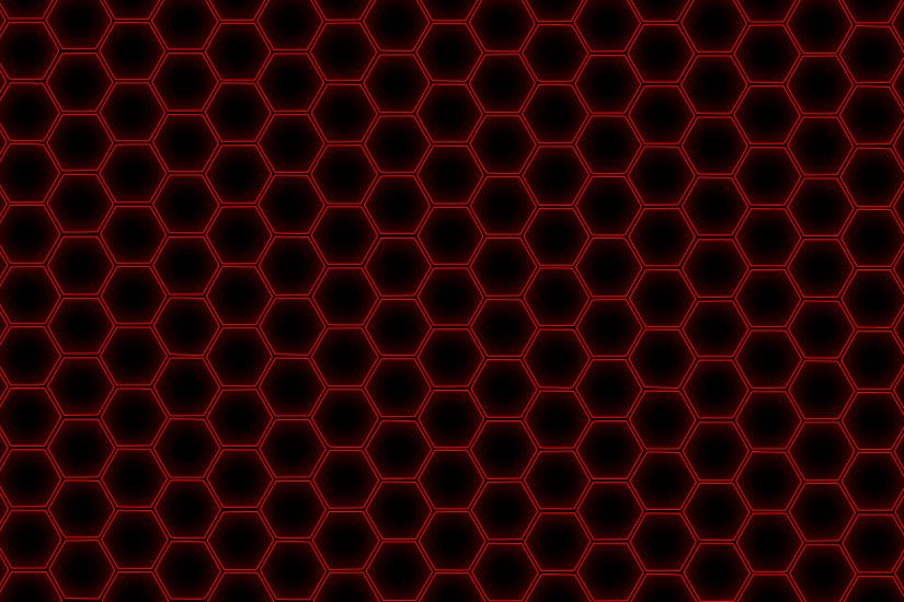 Hex Grid Red by Metatality Hex Grid Red by Metatality