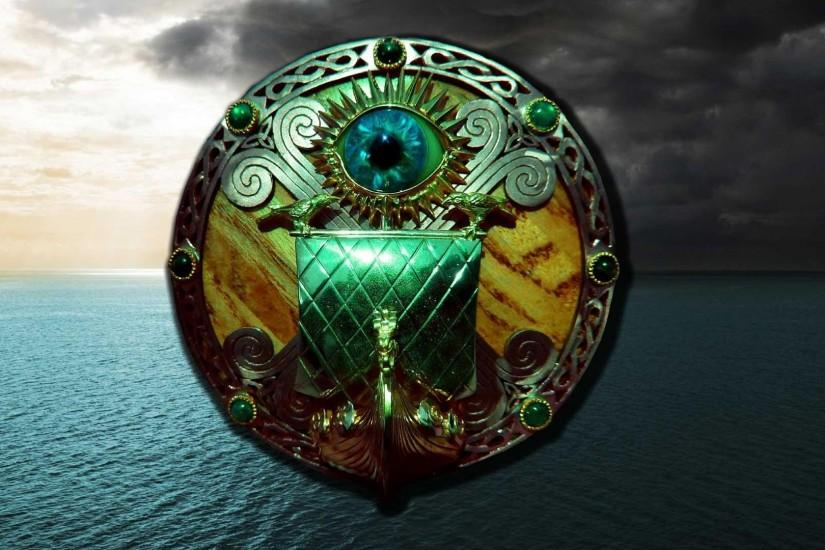 Treasure fjord mystery oak norse raven raid HD wallpaper