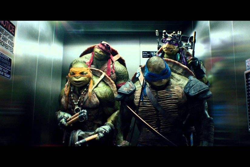 "TEENAGE MUTANT NINJA TURTLES - Official Film Clip - ""The Elevator"" - Int.  English - YouTube"