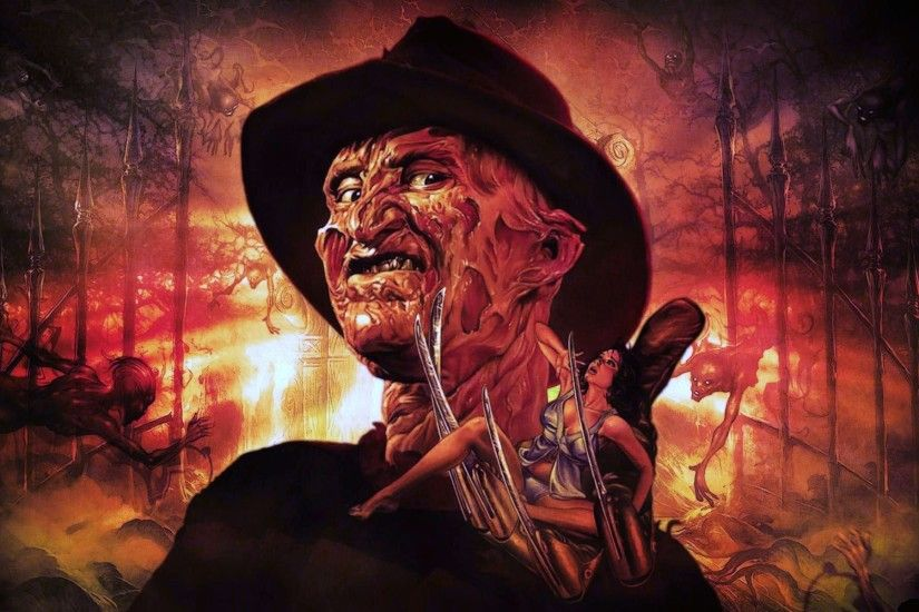 ... Nightmare on Elm Street HD Wallpaper 1920x1200