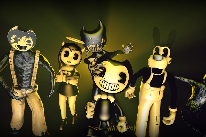 ... Bendy and the Ink Machine Generations [SPEEDART] by witheredfnaf