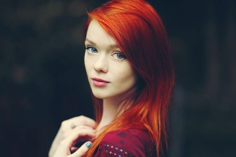 Nice Images Collection: Redhead Desktop Wallpapers