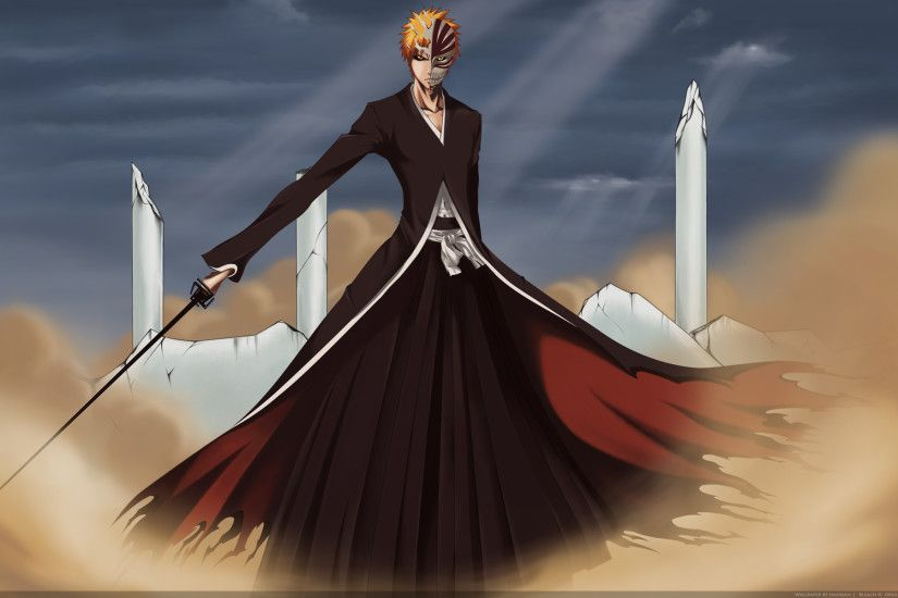 Bleach Ichigo Hollow Wallpaper-1920x1200