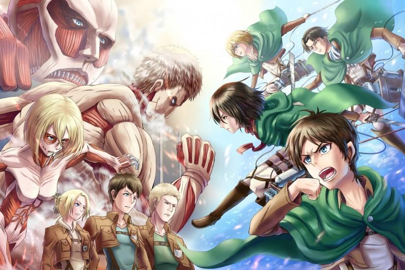 free download attack on titan wallpaper 3058x1696