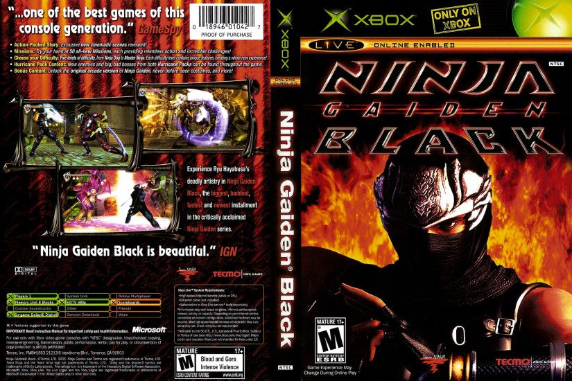 HD Quality Wallpaper | Collection: Video Game, 3203x2146 Ninja Gaiden Black