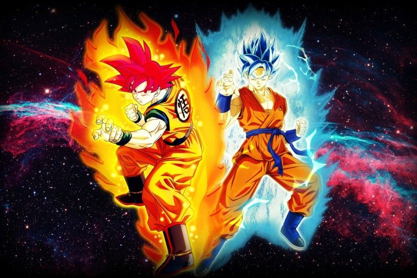 ... Goku Super Saiyan God Blue Kaioken X10 Wallpaper Image Gallery - HCPR