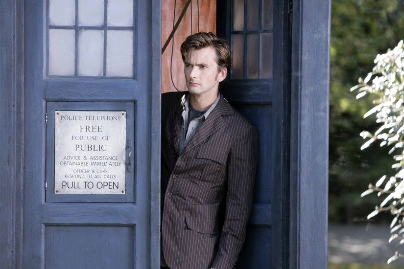 Doctor Who, The Doctor, David Tennant, Tenth Doctor, TARDIS Wallpaper HD
