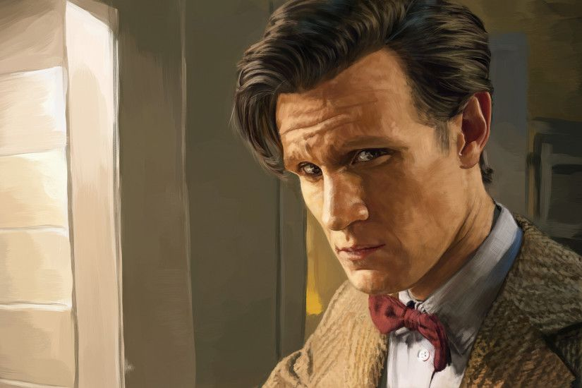 2048x1152 Wallpaper doctor who, eleventh doctor, matt smith