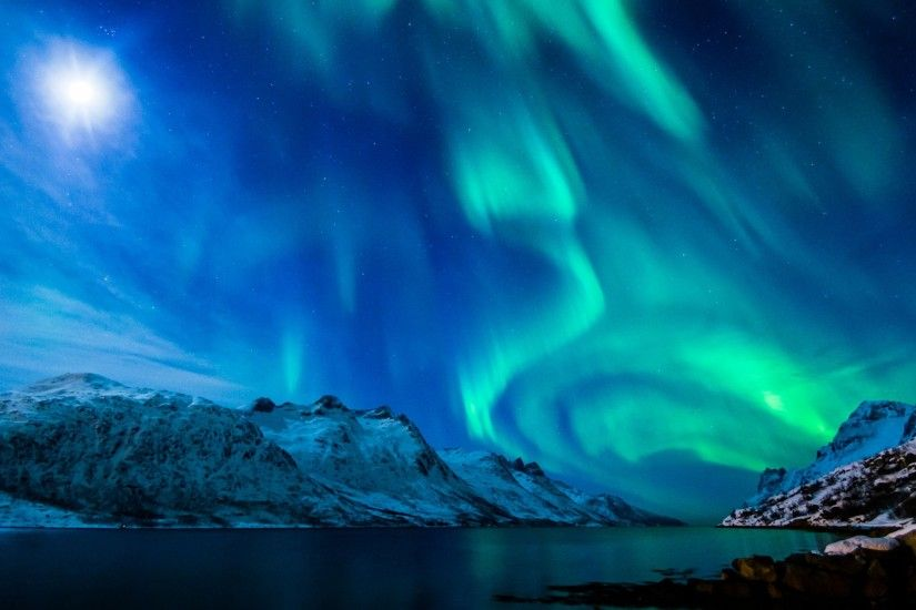 Preview wallpaper northern lights, aurora borealis, uk, 2015 3840x2160