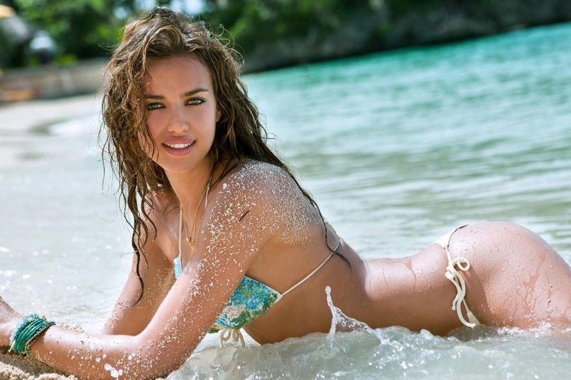 Irina Shayk - Sports Illustrated Swimsuit 2011 Location: Boracay Island,  Philippines, Shangri-La Boracay Resort Swimsuit: Swimsuit by Delfina  Swimwear ...