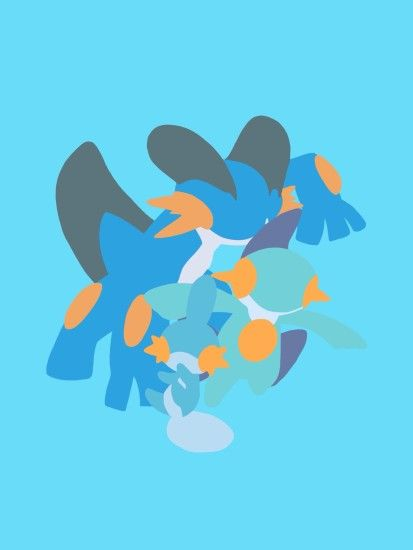 Mudkip, Marshstomp, Swampert, and Mega Swampert wallpaper .