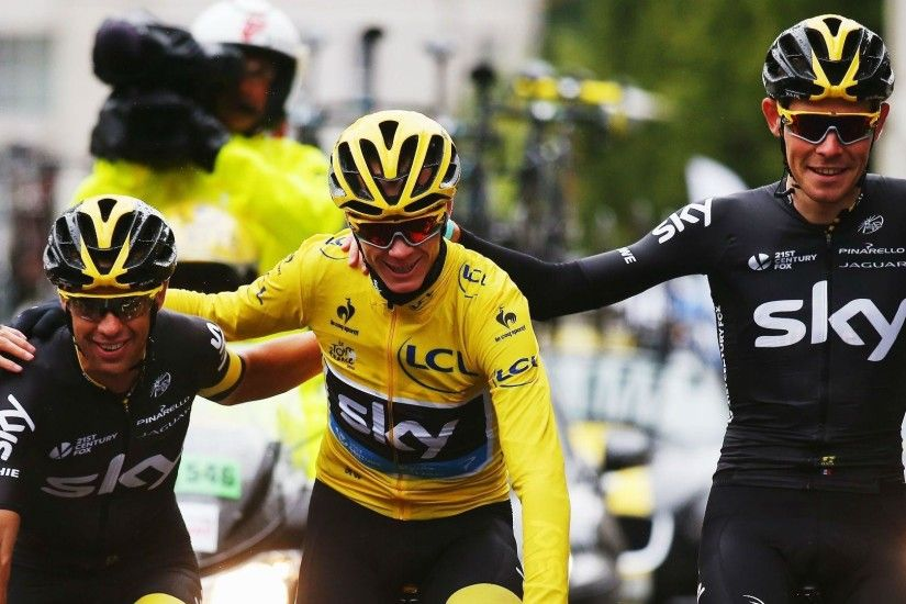 Chris Froome cruises to second Tour de France win in three years .