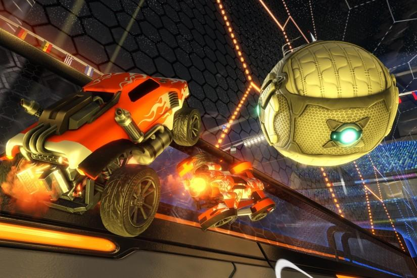 download rocket league wallpaper 3641x2048 for tablet