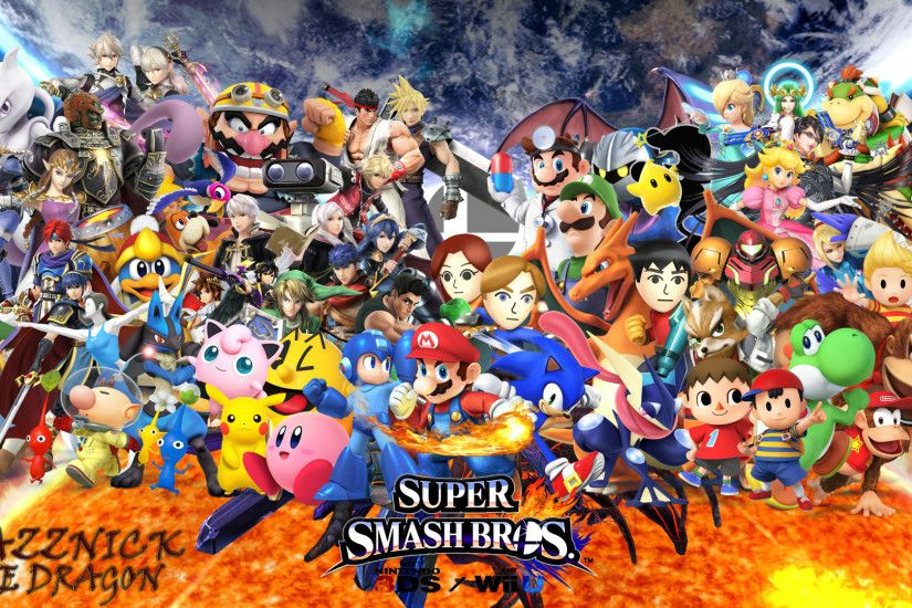 SSB4 Wallpaper by Mazznick SSB4 Wallpaper by Mazznick