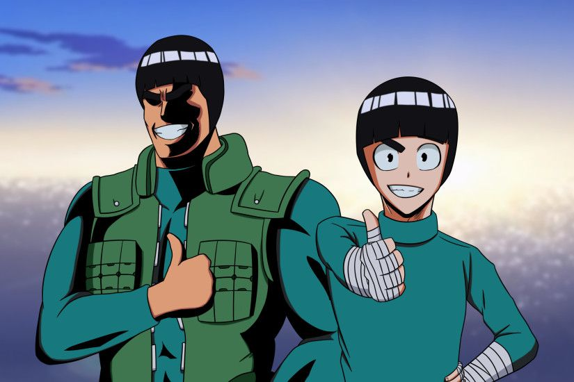 Rock Lee & Might Guy (MHA style) ...
