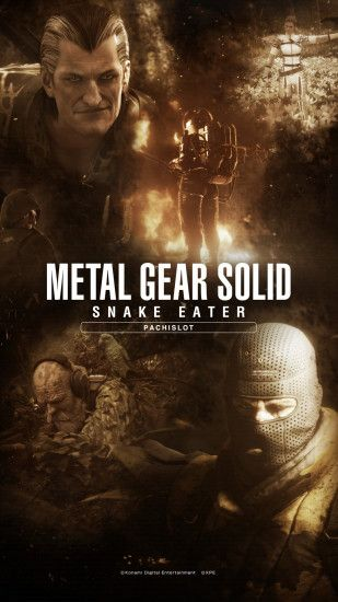 A bunch of wallpapers has been released on the official Metal Gear Solid Snake  Eater Pachislot website, each available in 12 different sizes, 6 for  desktop ...