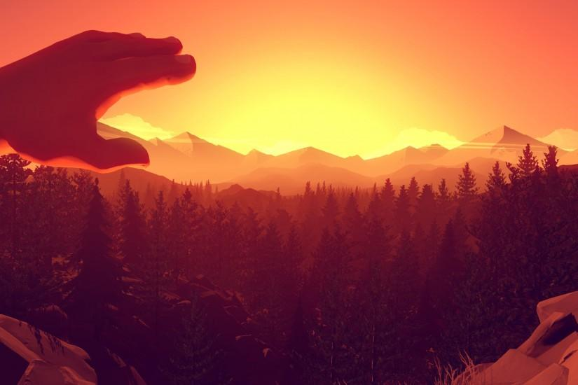 cool firewatch wallpaper 3000x1688